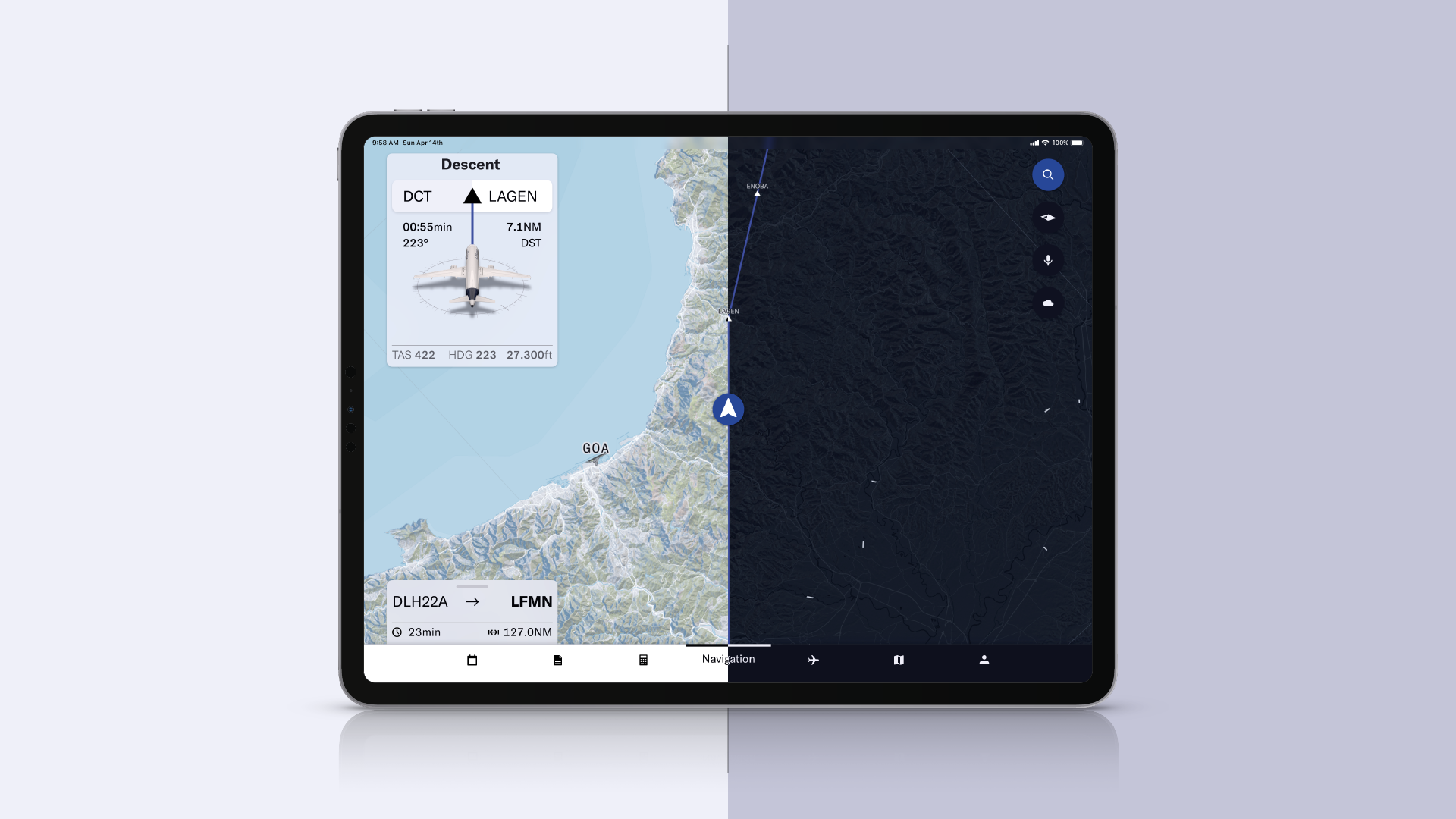 Aergo — Integrated Flight Management Application