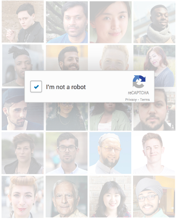 Unconscious Bias Captcha by LinkedIn