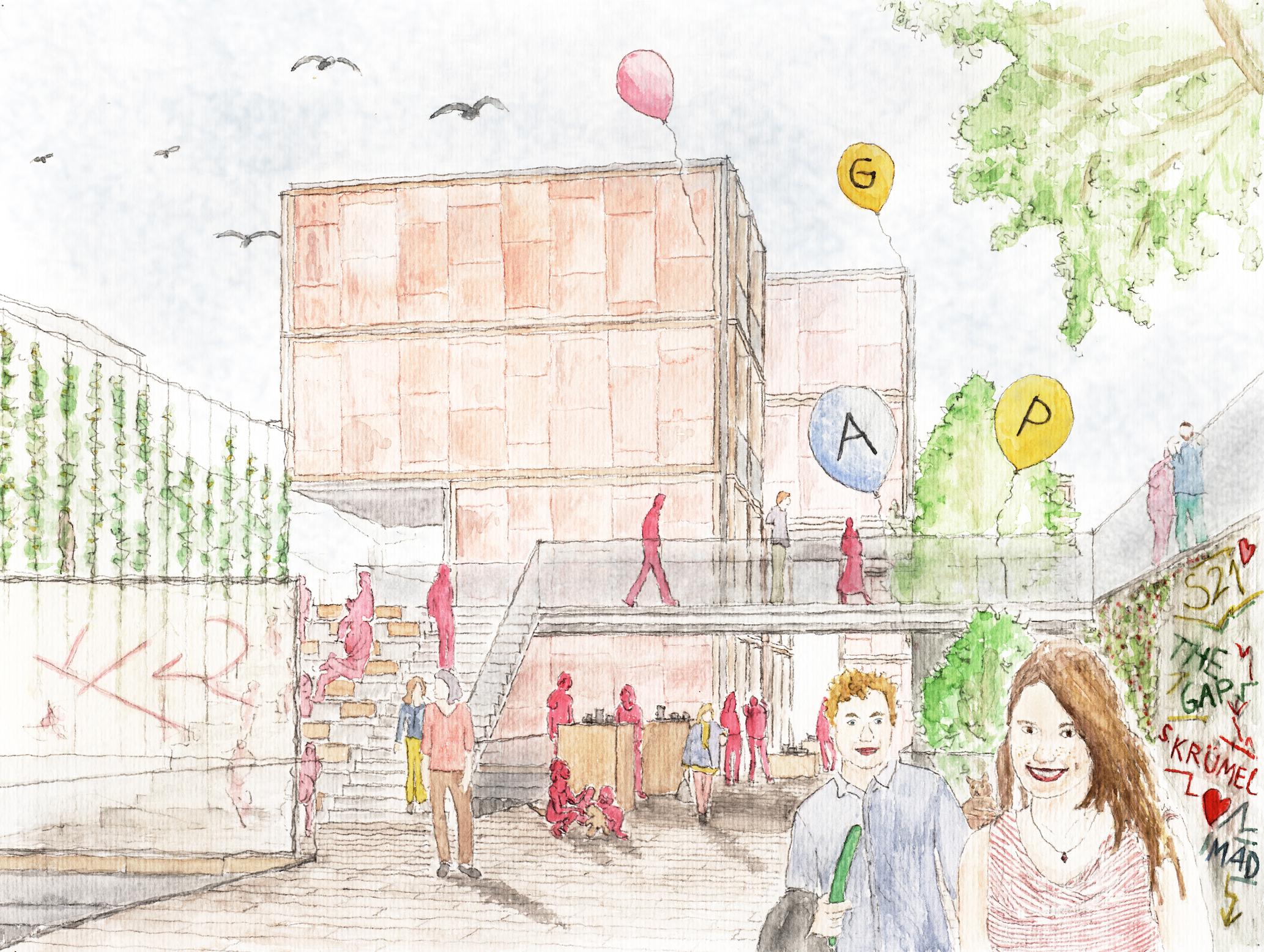 »MIND THE GAP« – ein Hyprid auf Zeit für die mulilokale Gesellschaft am Stuttgarter Hauptbahnhof