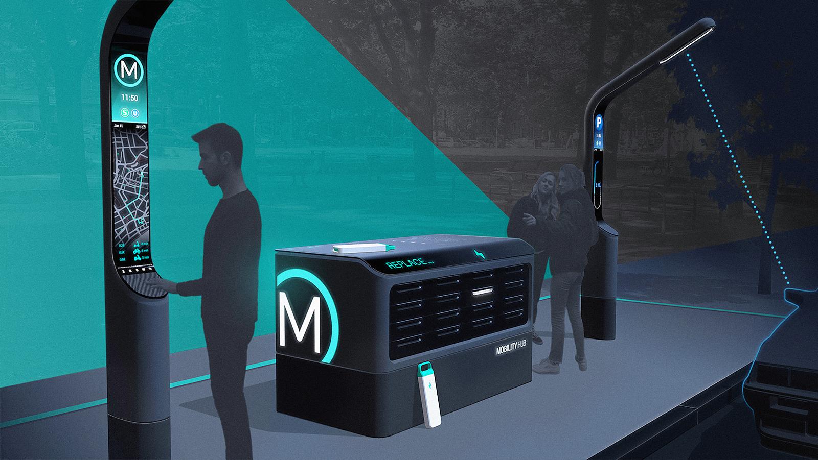 Mobility HUB – Vision einer Mobilitätsstation im urbanen Raum
