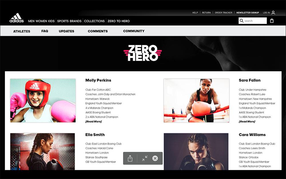 Adidas – Zero to Hero